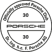 Officially approved Porsche Club 30